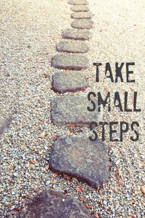 Yoga Practice Intention: Take Small Steps