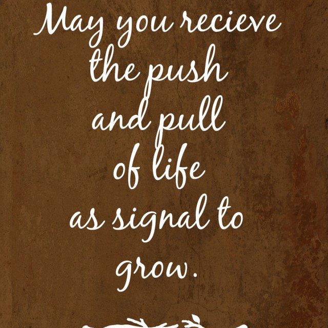 A Signal to Grow