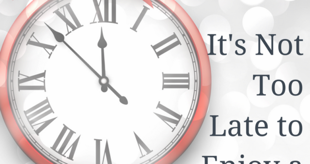 Episode 52: You're Not Too Late: How to Have a Healthy Holiday Season