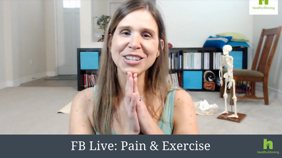 How to Address Pain & Exercise