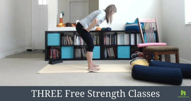Three FREE Classes to Build Strength