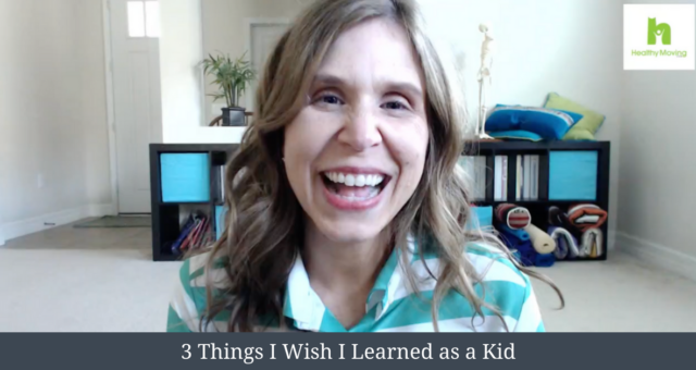 3 Lessons I wish I Learned as a Kid