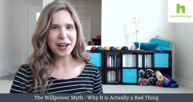 The Willpower Myth – Why It is Actually a Bad Thing