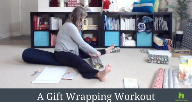 A Gift Wrapping Workout