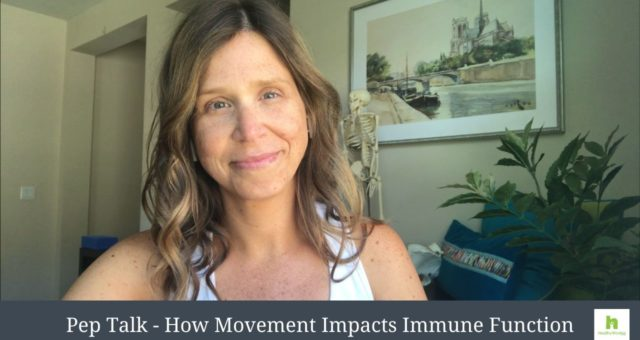 Pep Talk – How Movement Impacts Immune Function